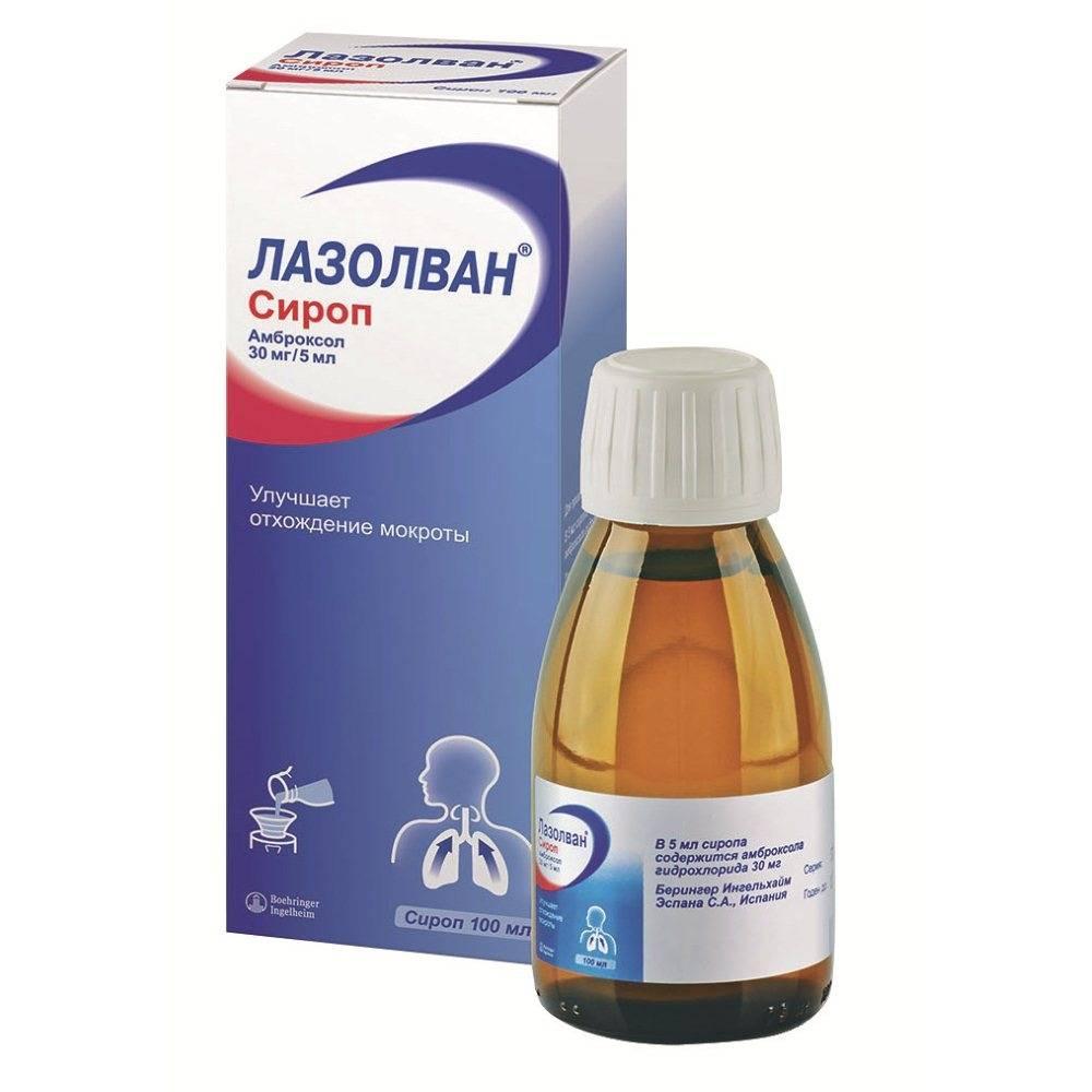 Названия и описания эффективных лекарств от мокрого кашля, как принимать средства