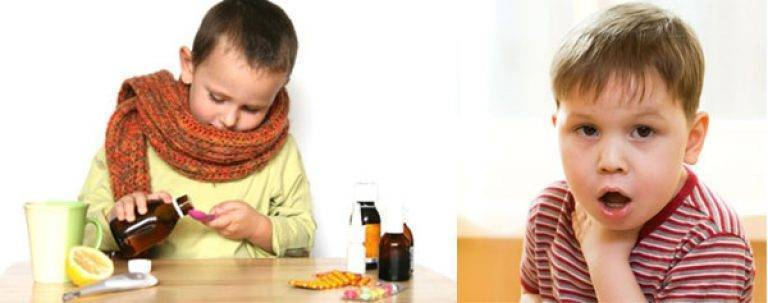 Трахеит у детей: симптомы, острый кашель, лечение в домашних условиях