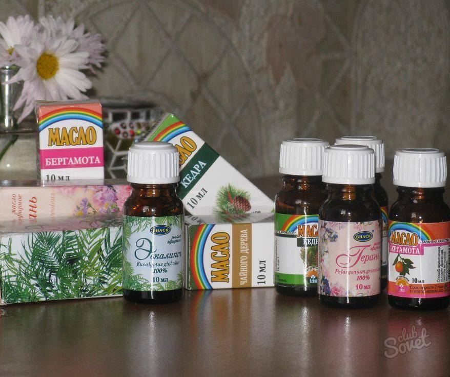 эфирное масло при насморке
