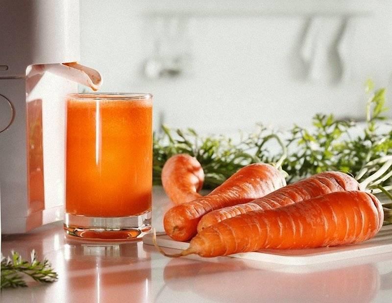 полезен ли морковный сок для печени