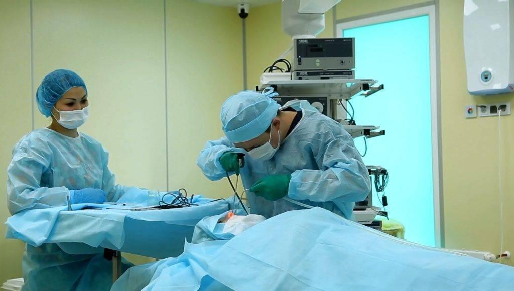 лазерная деструкция миндалин