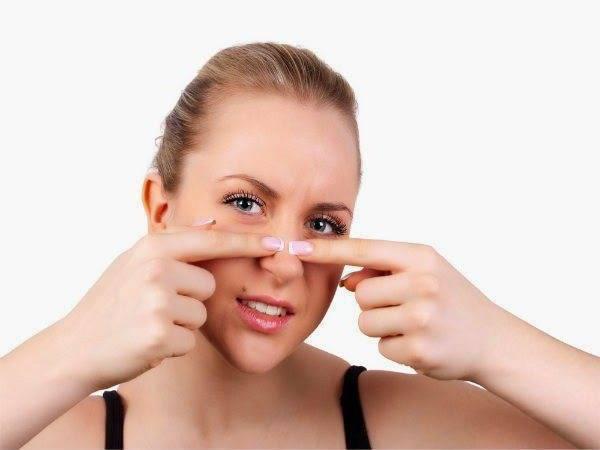 как убрать сливу с носа быстро
