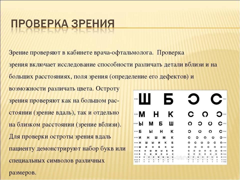 Зоркий глаз. нарушения зрения у детей