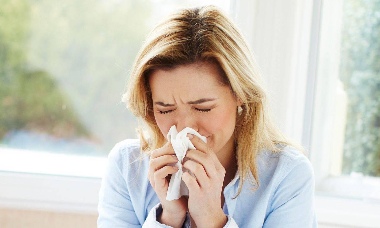 Заложенность носа и чихание