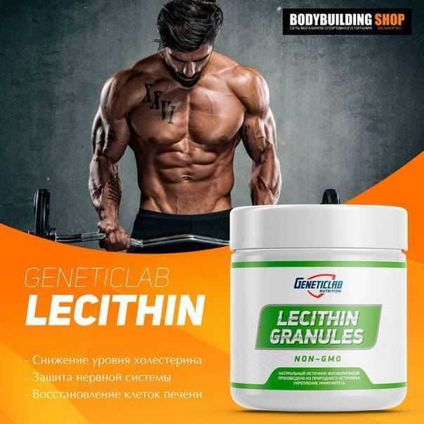 Как понизить холестерин с помощью лецитина?