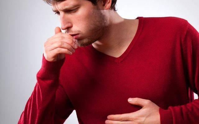 глубокий вдох вызывает кашель