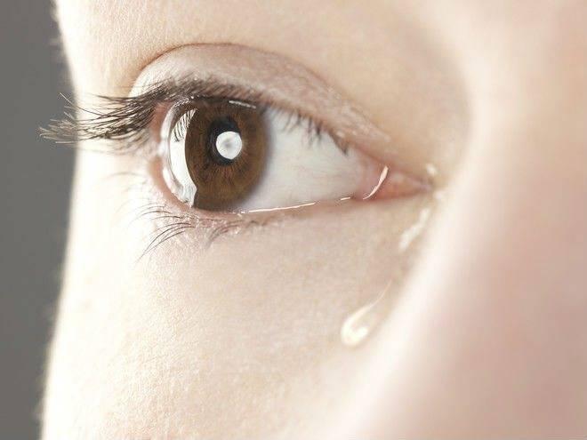 Выделение из глаз