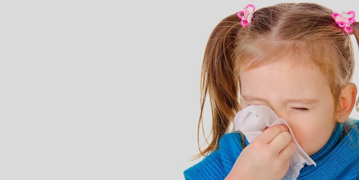 чем лечить заложенность носа у ребенка