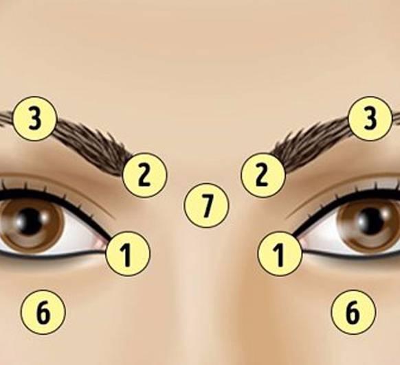 массаж для глаз для зрения