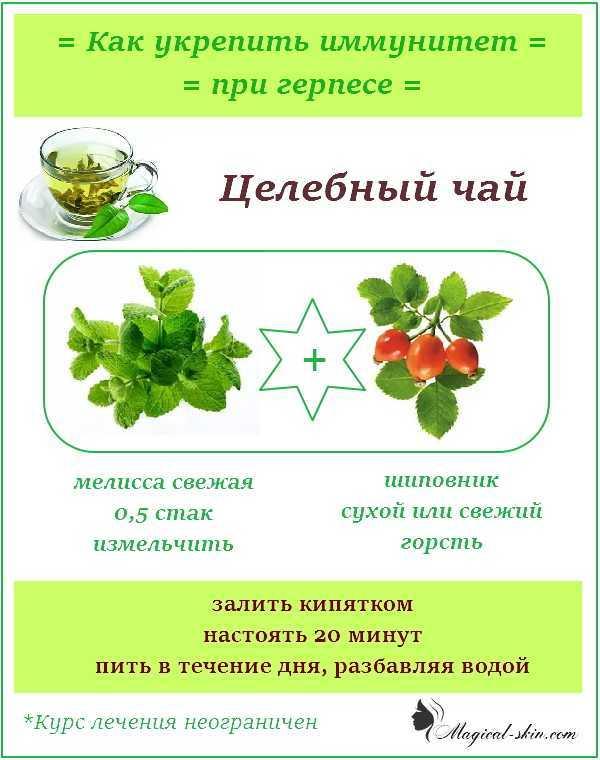 питание при герпесе на теле