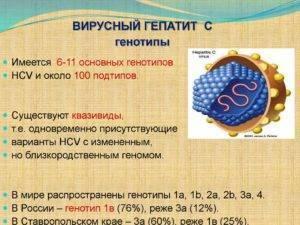 Лечение гепатита с 3а генотип