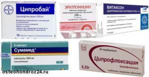 Антибиотики при фарингите у взрослых и детей: названия препаратов