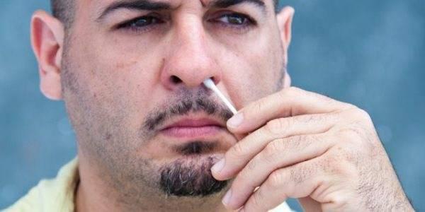 Как проявляется грибок в области носа?