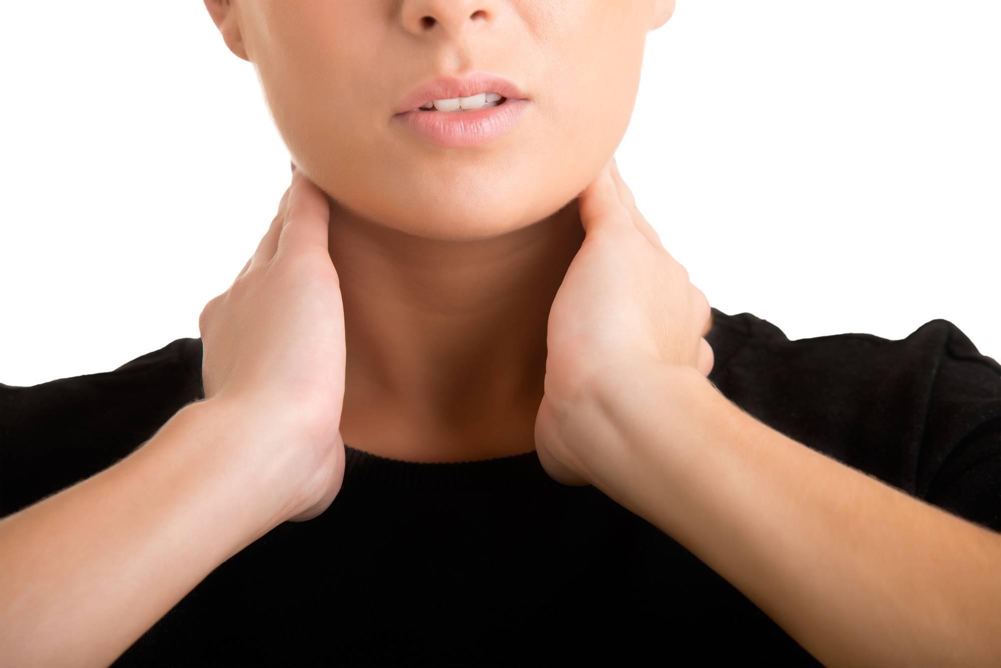 Ком в горле при щитовидной железе симптомы и лечение