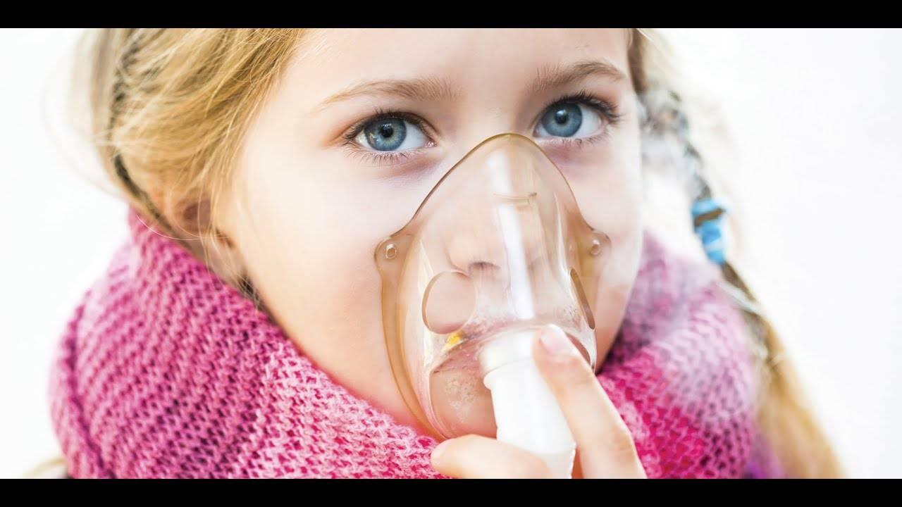 Ингаляция при кашле детям