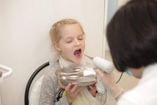 электрофорез при аденоидах у детей