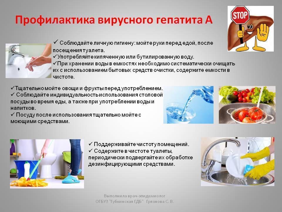 Симптомы, причины заражения, профилактика и лечение гепатита а
