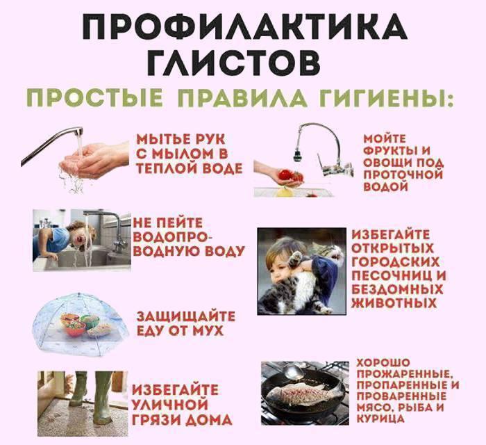 Препараты для профилактики глистов у детей и взрослых