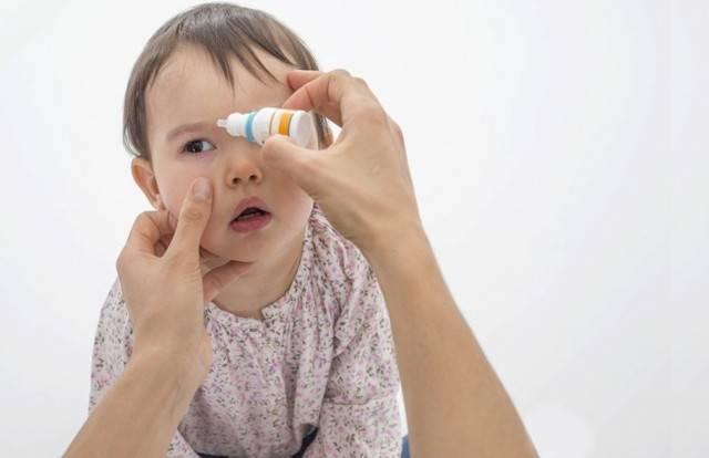 чем промыть глаза новорожденному ребенку