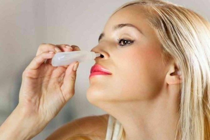 Перекись водорода в нос для промывания