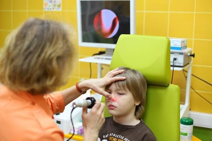 лазерная терапия при аденоидах у детей