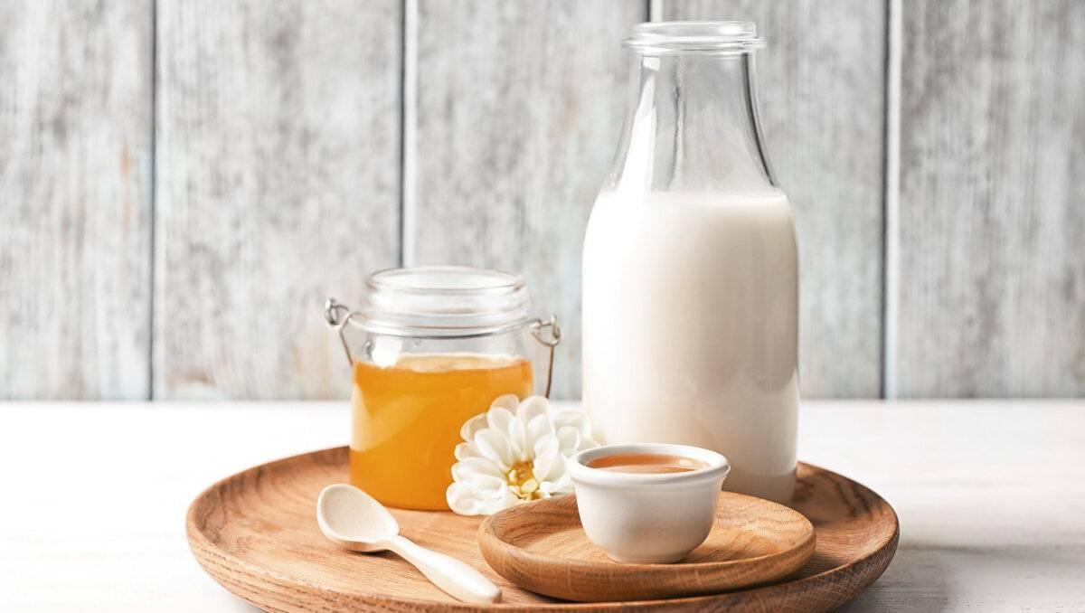 теплое молоко от кашля