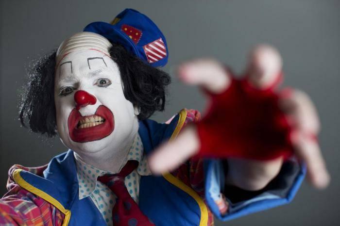 как называется фобия боязнь клоунов