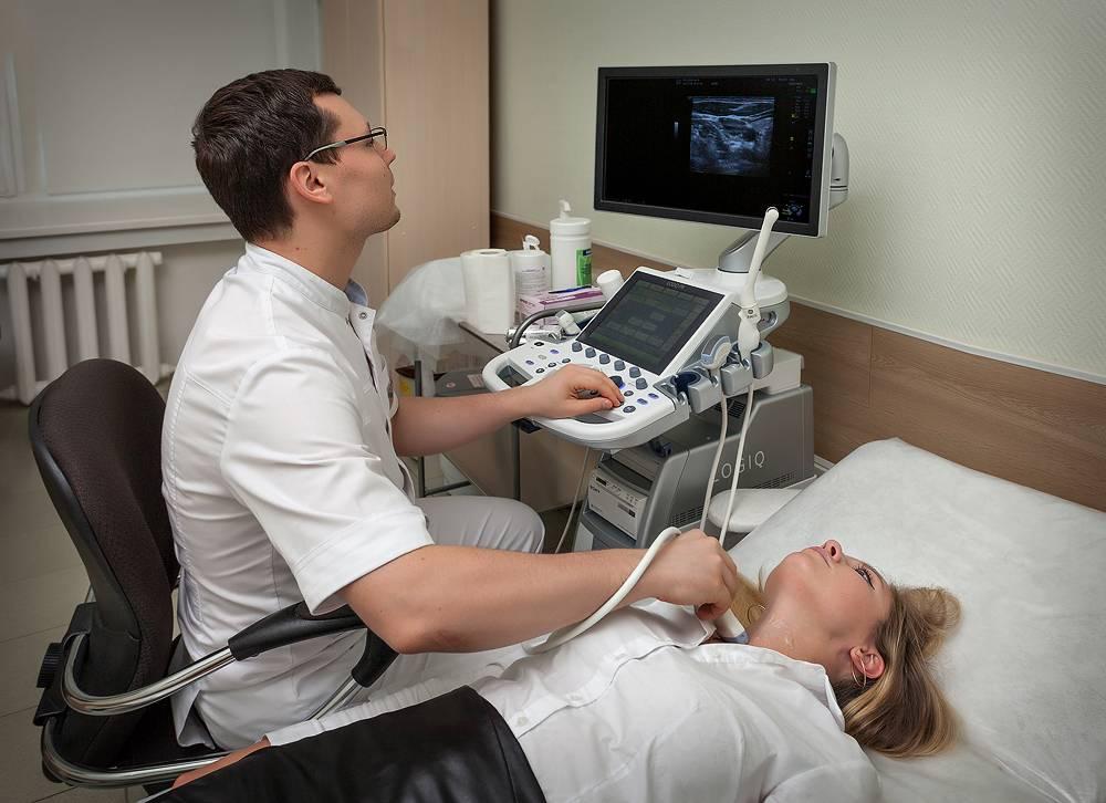 щитовидная железа на узи обследовании