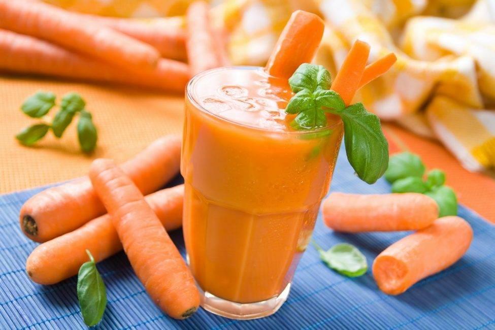 Морковный сок для здоровья печени