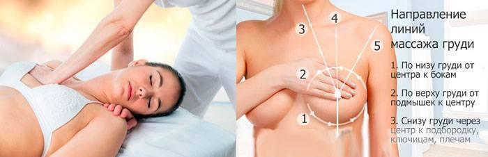 как делать массаж при лактостазе