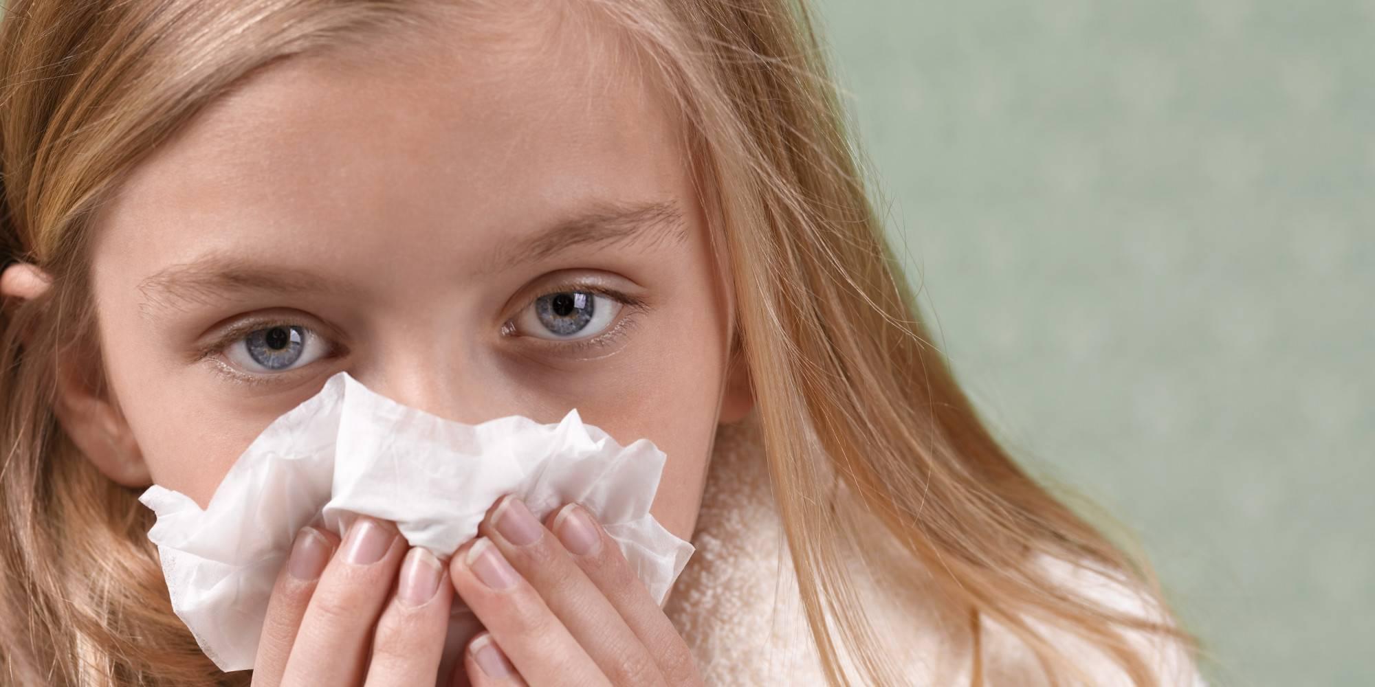 Инфекционный ринит у детей лечение