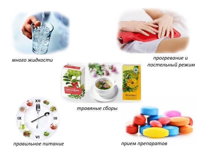 Цистит: симптомы и лечение в домашних условиях эффективными препаратами