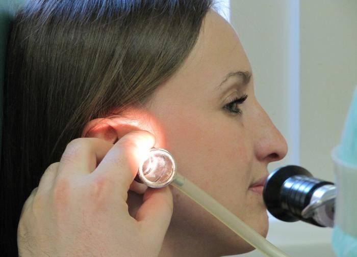 заложены уши и шум в ушах