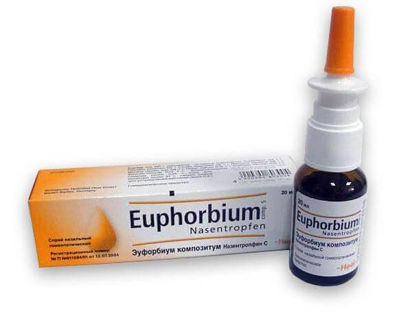 Гомеопатия при синусите