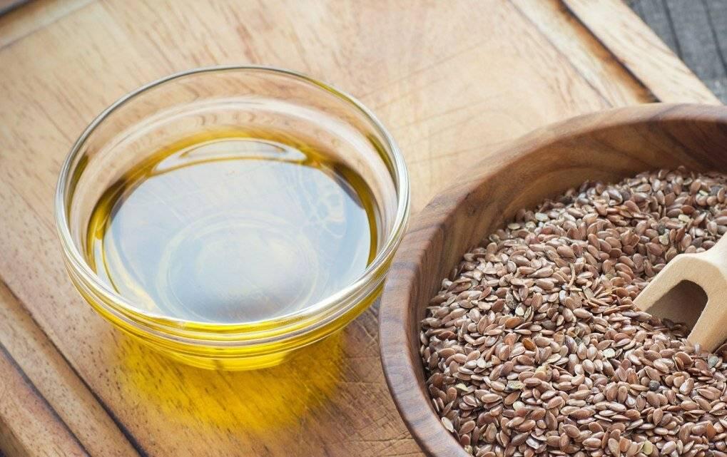 Льняное масло и семя льна при повышенном холестерине