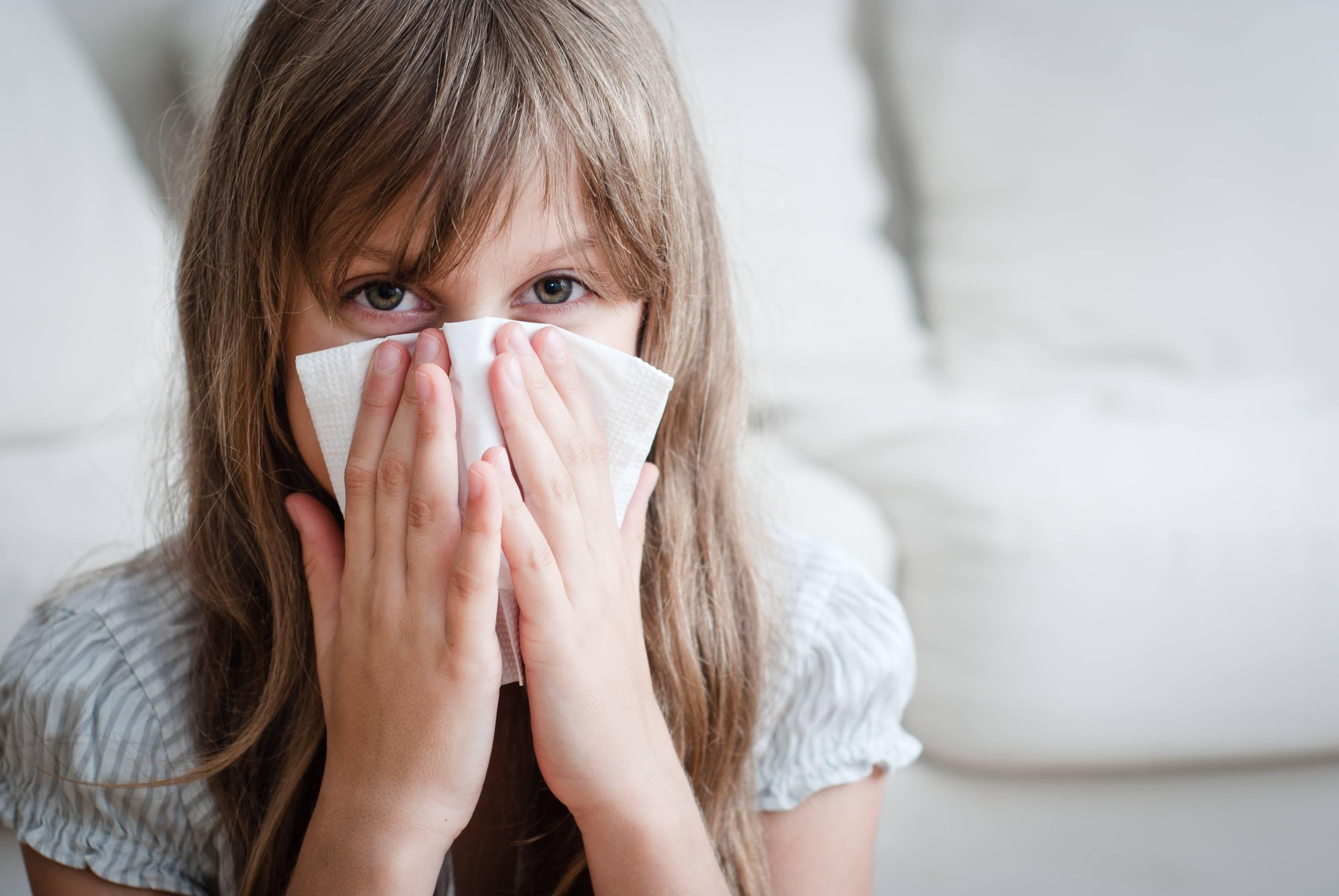 гайморит у детей лечение