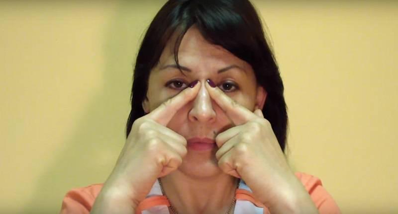 Особенности массажа при гайморите в домашних условиях