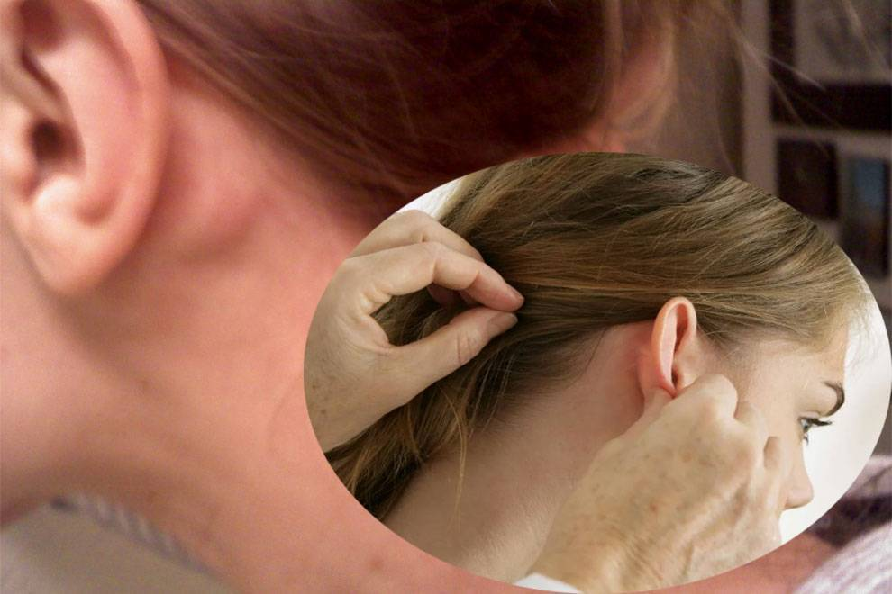 Увеличение лимфоузлов за ухом у ребенка