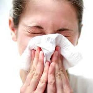 Щекотание в носу и чихание
