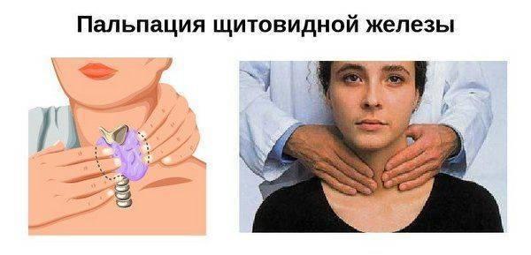 Неоднородная структура щитовидной железы