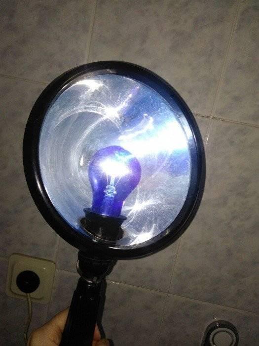 можно ли греть нос при насморке синей лампой