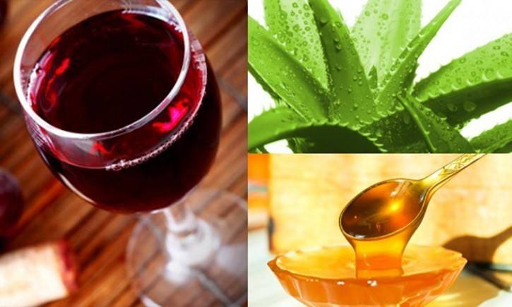 Народные средства от кашля: алоэ с медом