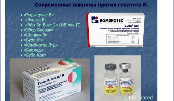 состав вакцины от гепатита в
