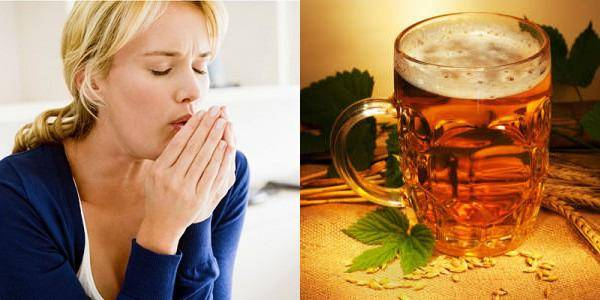 пиво от горла