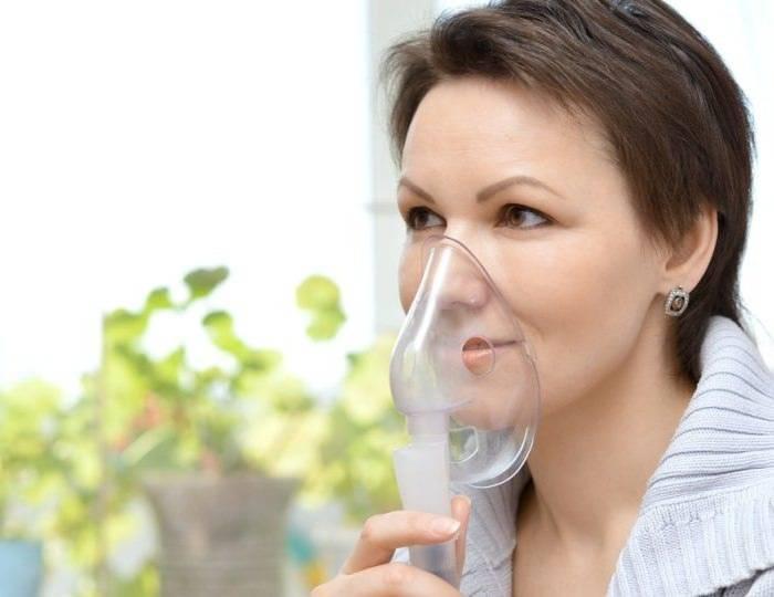 можно ли дышать ингалятором при ангине