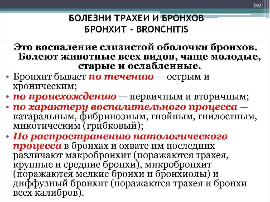 заболевание трахеи симптомы лечение