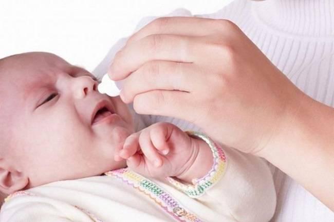 ринит у новорожденных