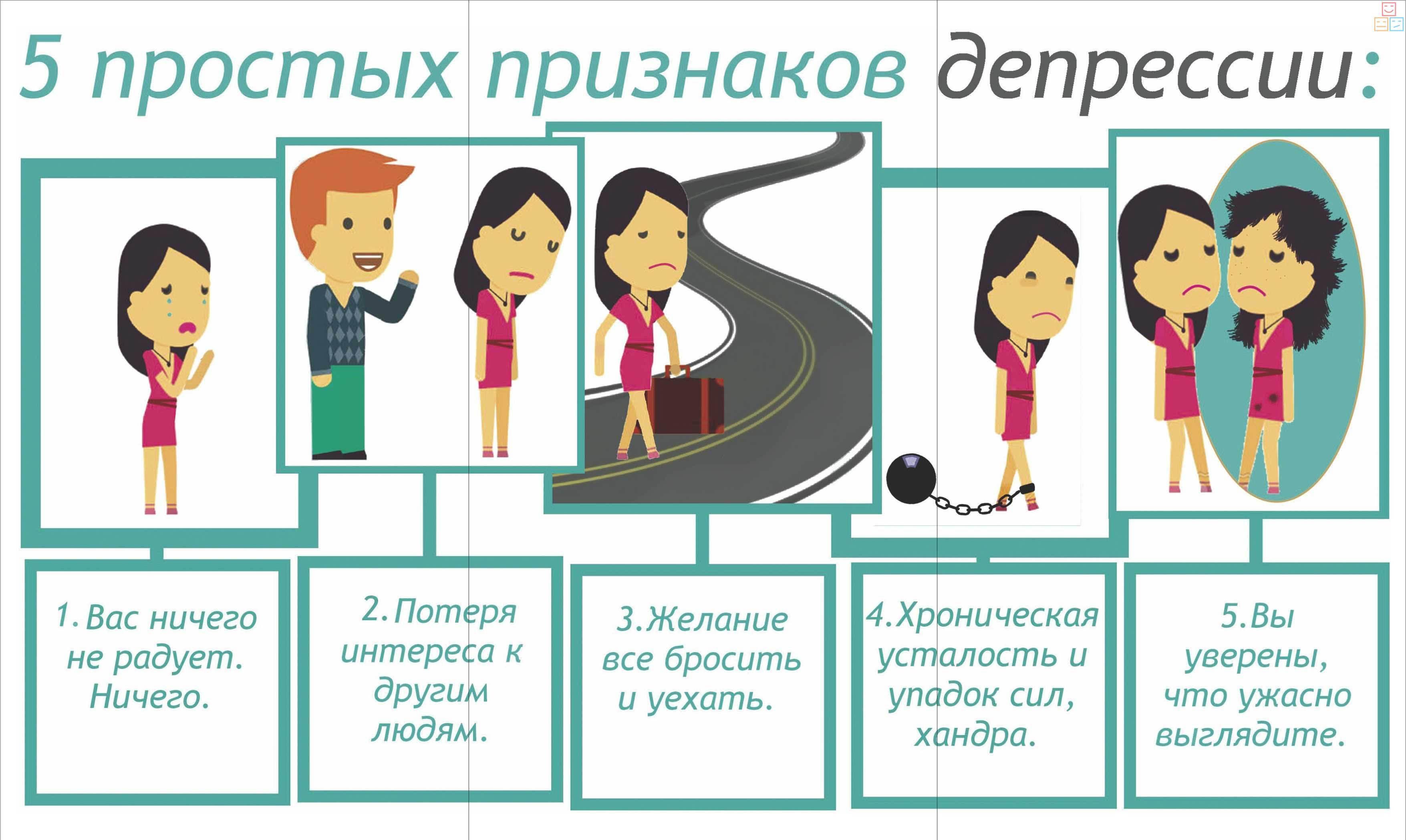 Признаки депрессии у женщины — как узнать и вылечить