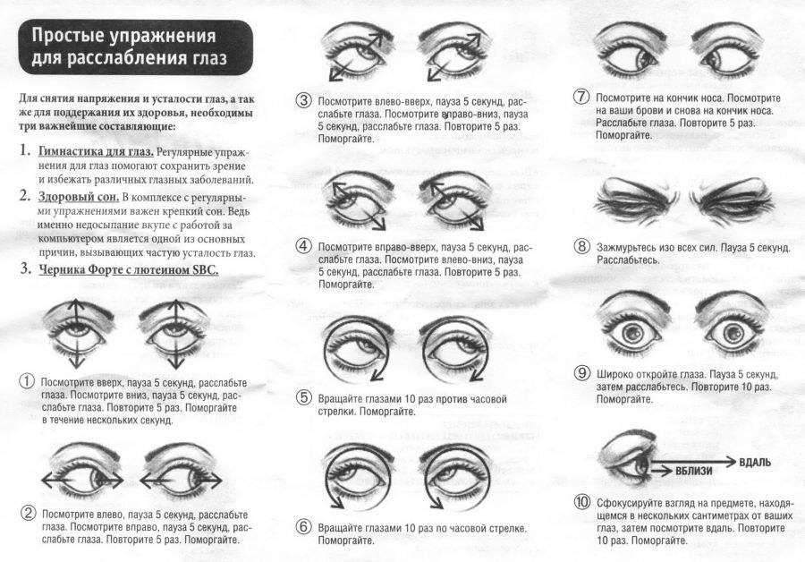 как восстановить зрение при близорукости в домашних условиях