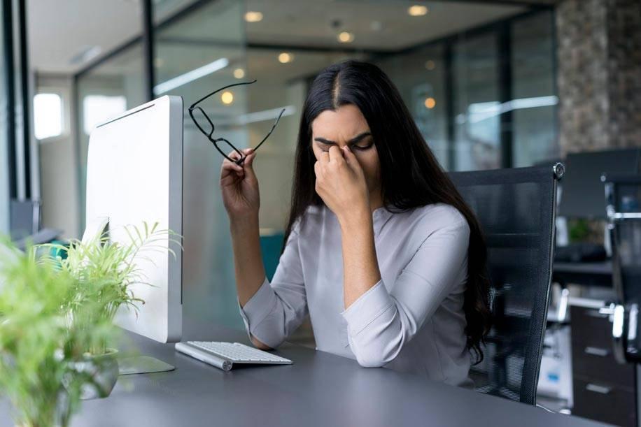 хроническая усталость глаз
